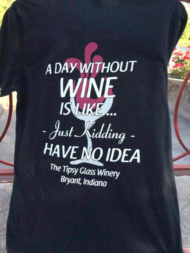 A Day Without Wine T-Shirt $19.00